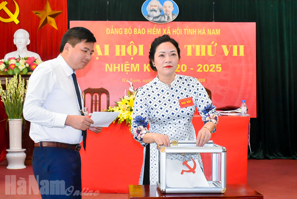Đại hội Đảng bộ Bảo hiểm xã hội tỉnh lần thứ VII nhiệm kỳ 20202025