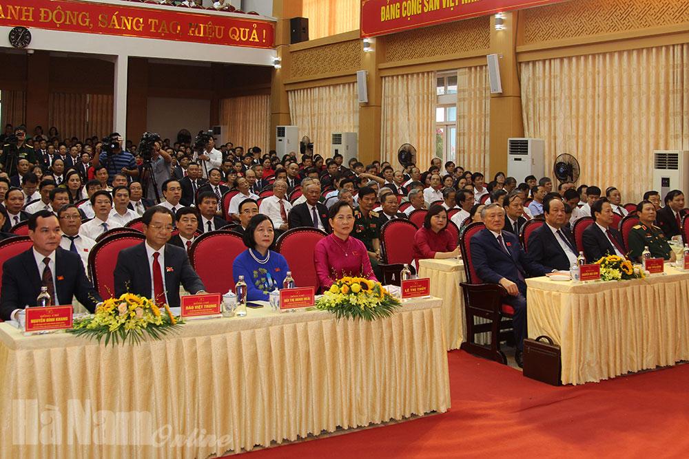 Đảng bộ thị xã Duy Tiên long trọng tổ chức đại hội nhiệm kỳ 2020 2025