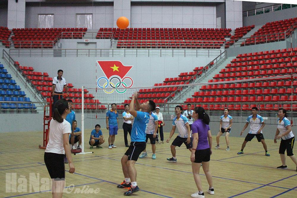 Giao lưu thể thao chào mừng Ngày Gia đình Việt Nam