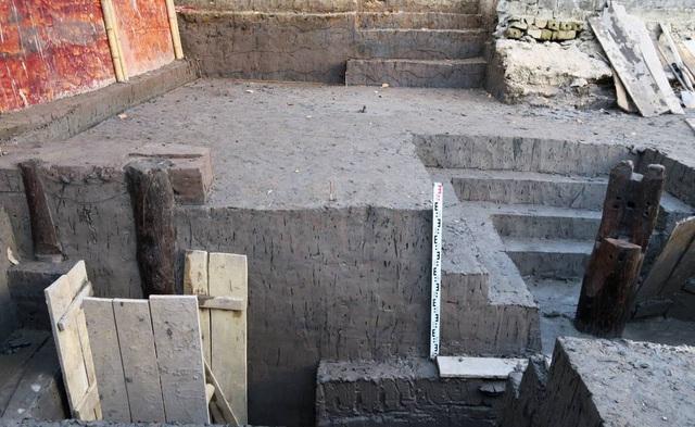 Hải Phòng 37 cọc gỗ được phát hiện dự đoán là cọc Bạch Đằng thời Trần