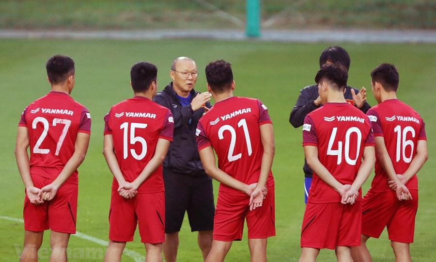 HLV Park Hang Seo công bố danh sách U22 Việt Nam