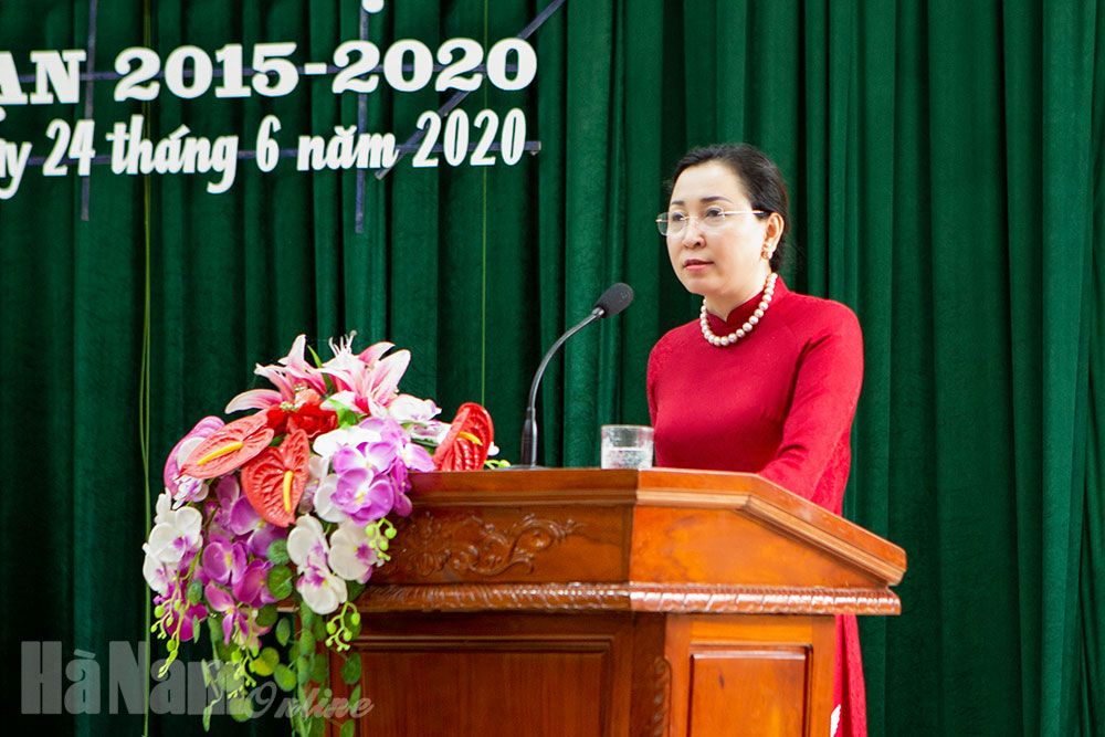 Kim Bảng tuyên dương điển hình tiên tiến giai đoạn 2015 – 2020