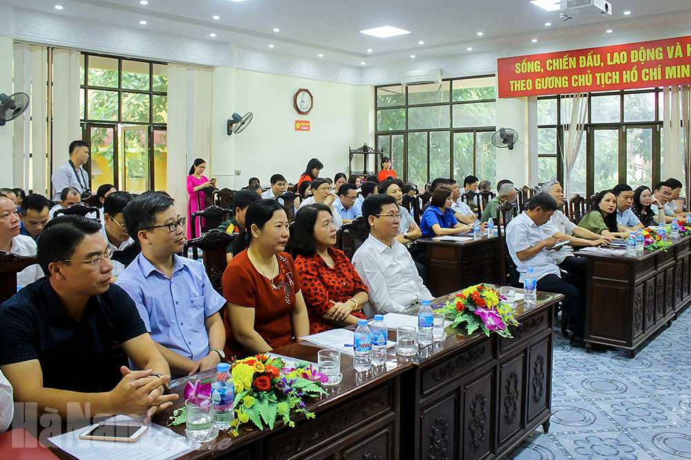 Phát động cuộc thi tìm hiểu lịch sử văn hóa Hà Nam
