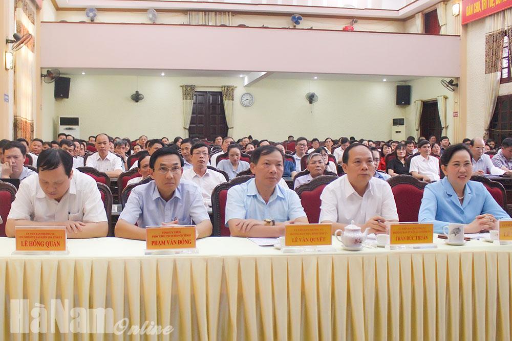 Tỉnh ủy tổ chức nói chuyện chuyên đề về cuộc cách mạng công nghiệp 40