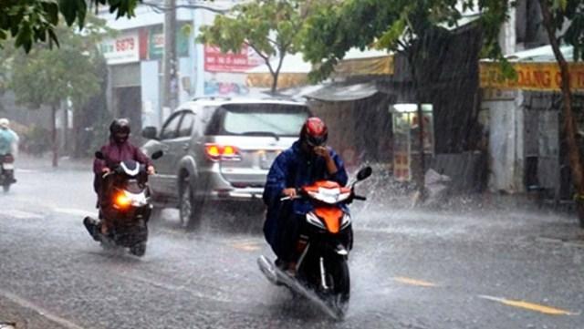 Từ chiều tối ngày 1 đến 47 Bắc Bộ và Thanh Hóa mưa lớn