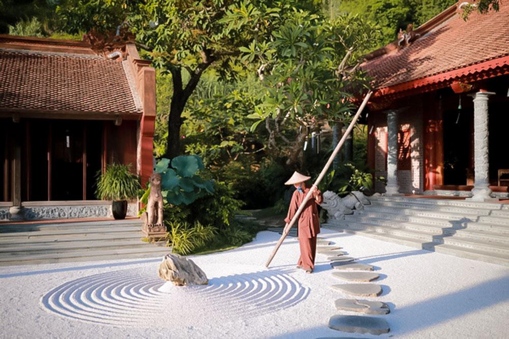Vẻ đẹp bình yên ở Địa Tạng Phi Lai tự