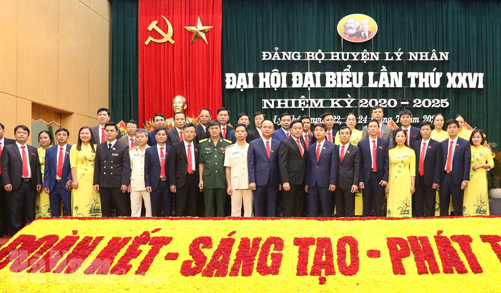 Bế mạc Đại hội đại biểu Đảng bộ huyện Lý Nhân lần thứ XXVI nhiệm kỳ 2020  2025