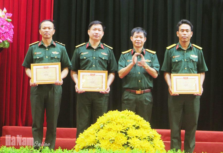 Bộ CHQS tỉnh tổ chức hội thi cứu hộ cứu nạn năm 2020