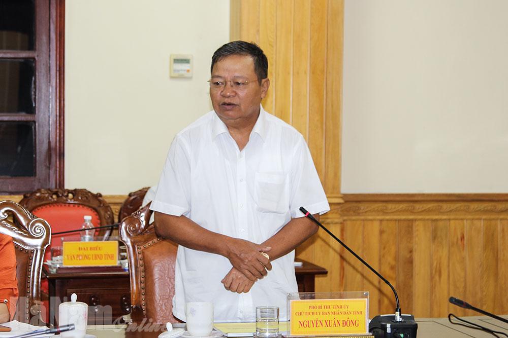 BTV Tỉnh ủy nghe báo cáo công tác chuẩn bị các điều kiện tổ chức Đại hội đại biểu Đảng bộ tỉnh lần thứ XX