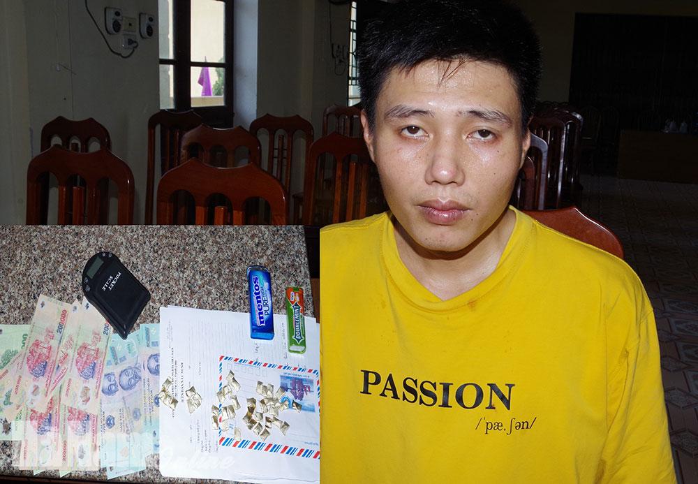 Công an huyện Bình Lục phá chuyên án bắt đối tượng tàng trữ mua bán 39 gói heroin