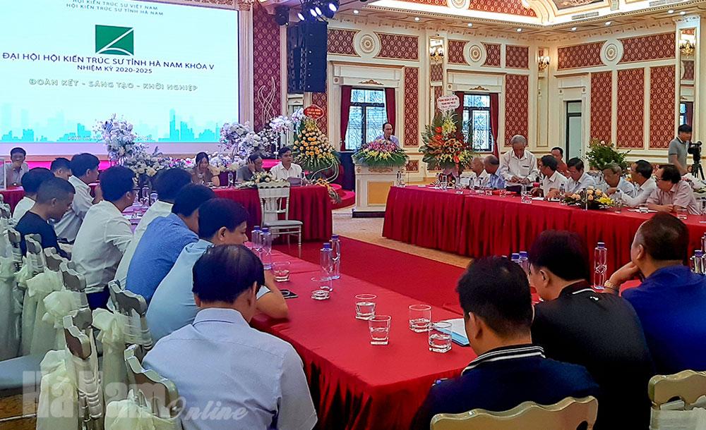 Đại hội Hội Kiến trúc sư tỉnh khóa V nhiệm kỳ 20202025