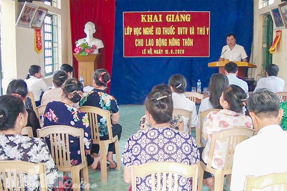 Đào tạo nghề cho lao động nông thôn ở Kim Bảng
