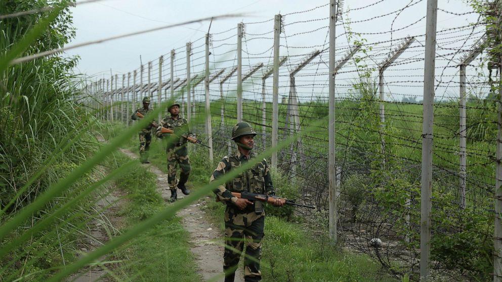 Đấu súng gây đổ máu tại biên giới Ấn ĐộPakistan