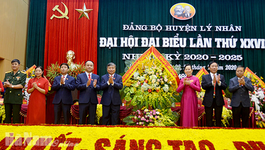 Khai mạc Đại hội đại biểu Đảng bộ huyện Lý Nhân lần thứ XXVI nhiệm kỳ 2020 – 2025