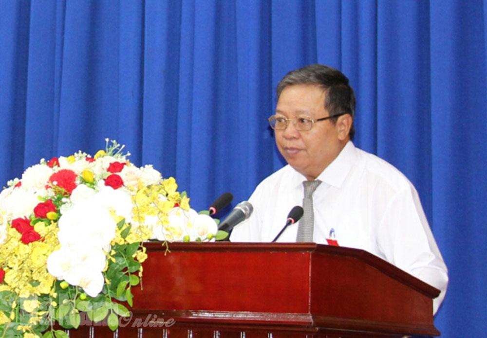 Khai mạc Kỳ họp thứ 16 HĐND tỉnh khóa XVIII