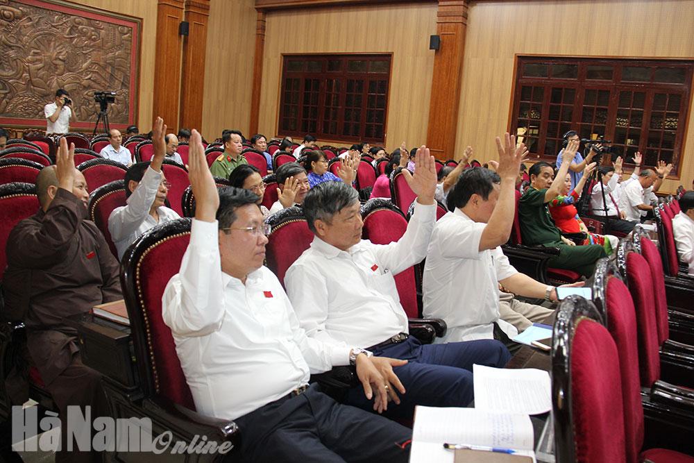 Kỳ họp thứ 16 HĐND tỉnh khóa XVIII thành công tốt đẹp