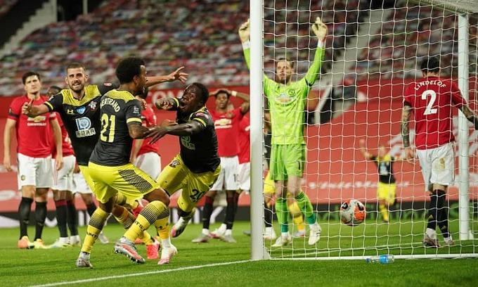 Man Utd lỡ top bốn Ngoại hạng Anh