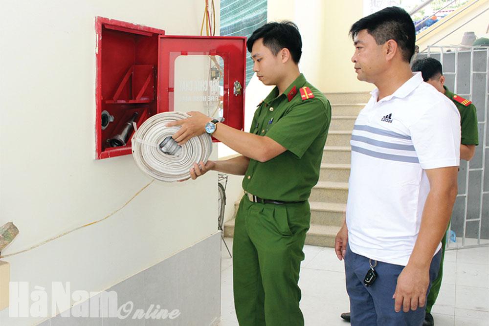 Nâng cao ý thức phòng chống cháy nổ trong thời tiết nắng nóng