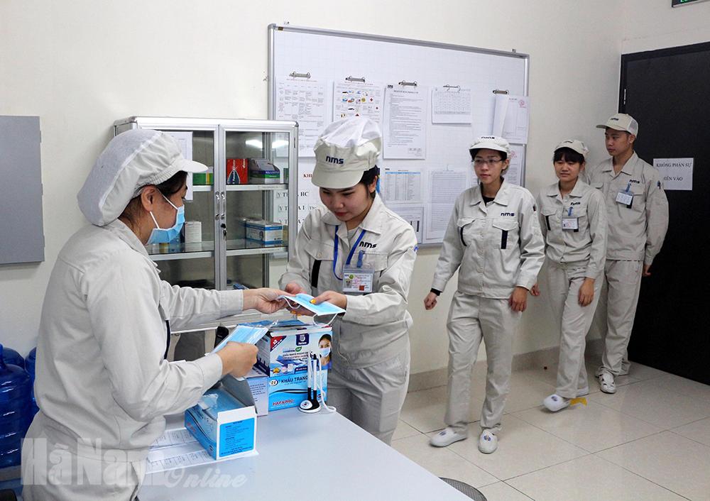 Tăng cường phòng chống dịch Covid19 trong tình hình mới tại các KCN