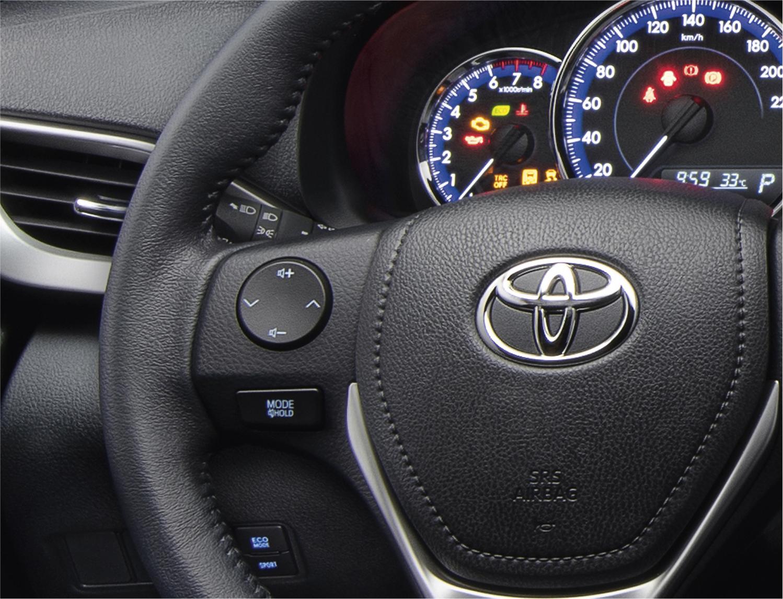 Toyota Vios 2021 ra mắt lần đầu có đèn pha LED