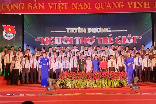 Tuyên dương 63 Người thợ trẻ giỏi toàn quốc năm 2020