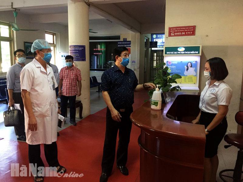 Bệnh viện Đa khoa Hà Nam phải khắc phục các khâu chưa đạt mức ann toàn trong 23 ngày tới