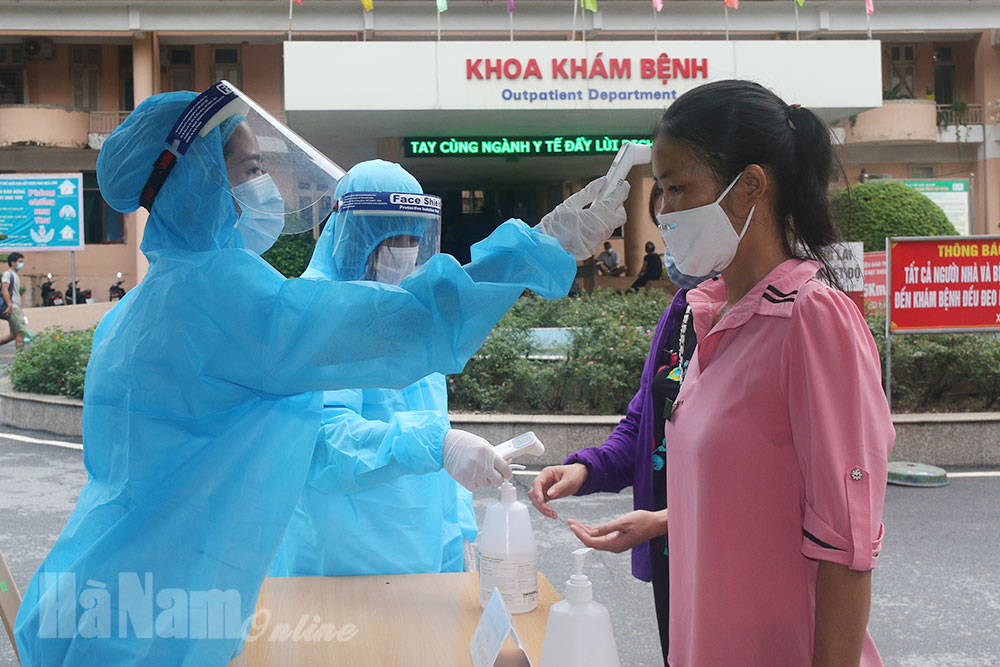 BVĐK Hà Nam Duy trì khám chữa bệnh kích hoạt tối đa các biện pháp phòng dịch Covid19