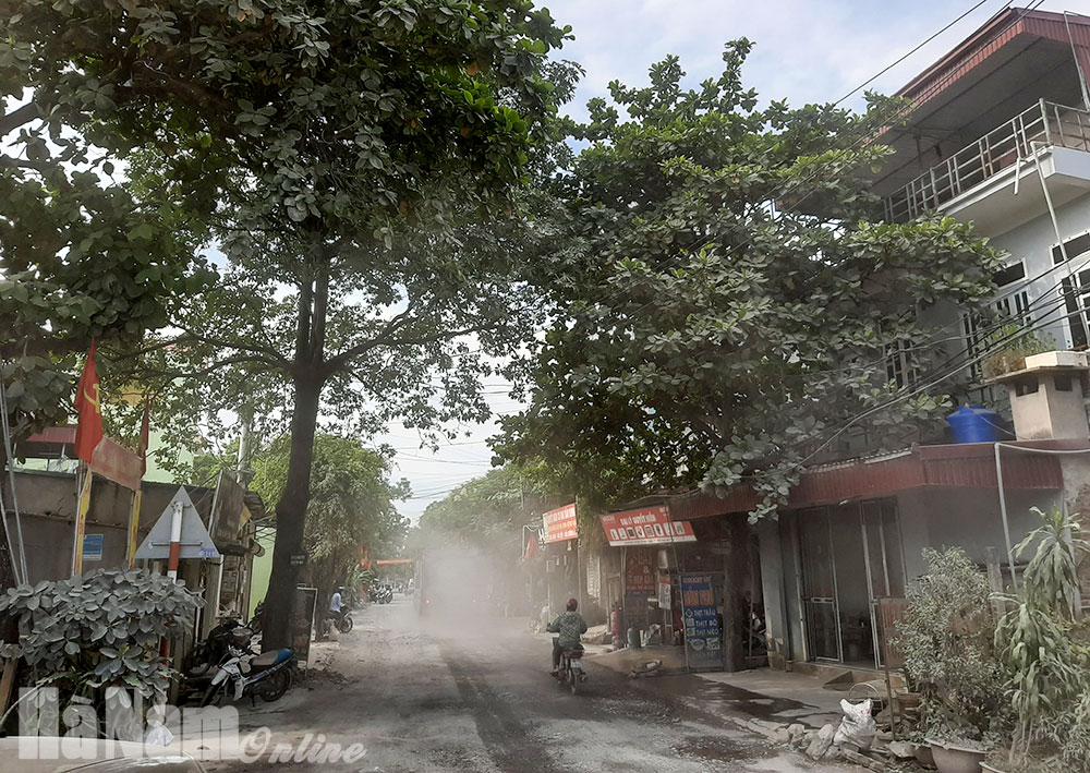 Cần sớm đầu tư nâng cấp QL 21B đoạn qua địa bàn xã Tân Sơn