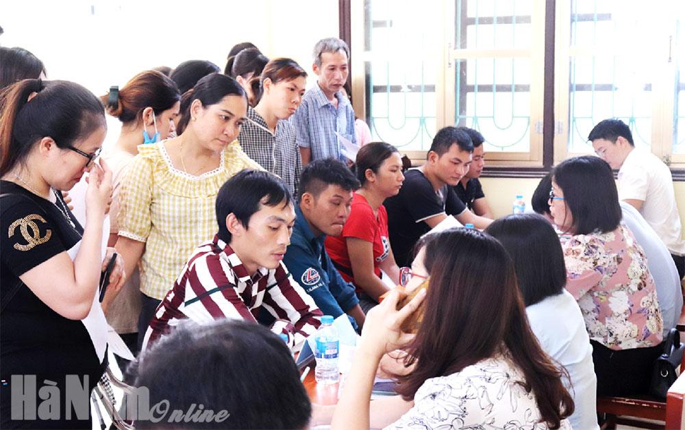 Đổi mới hình thức tổ chức các phiên giao dịch việc làm