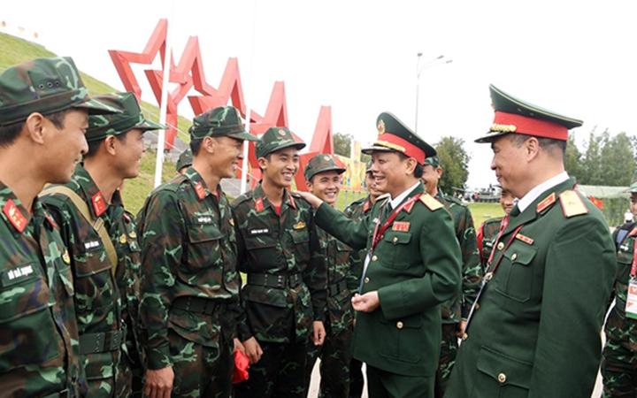Đội tuyển xe tăng Việt Nam xếp thứ hai bảng 2