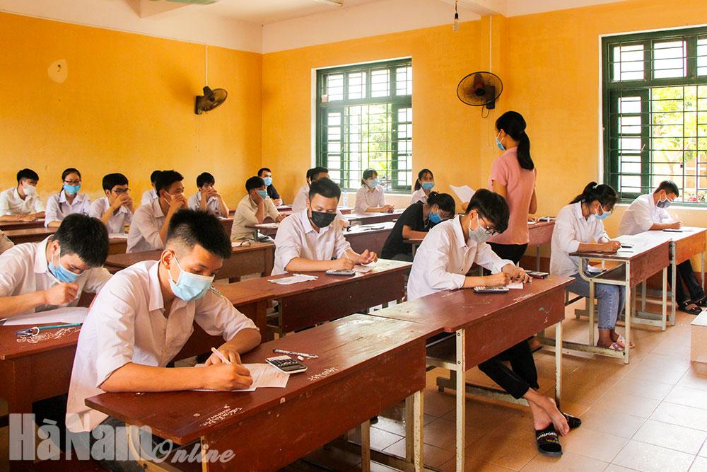 Hà Nam đạt bình quân 6649 điểm các môn thi tốt nghiệp THPT năm 2020