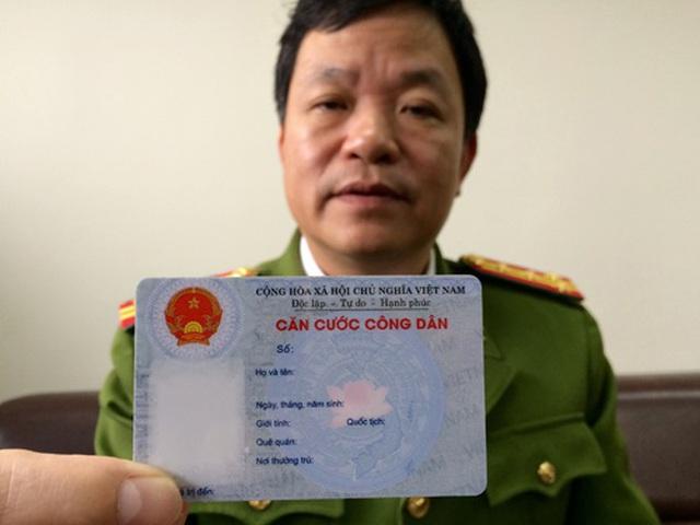 Khuyến nghị người dân 16 tỉnh thành không vội đổi thẻ Căn cước công dân