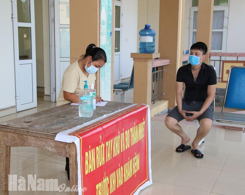 Tăng tốc truy vết người liên quan đến bệnh nhân Covid19 quê ở Nhật Tân