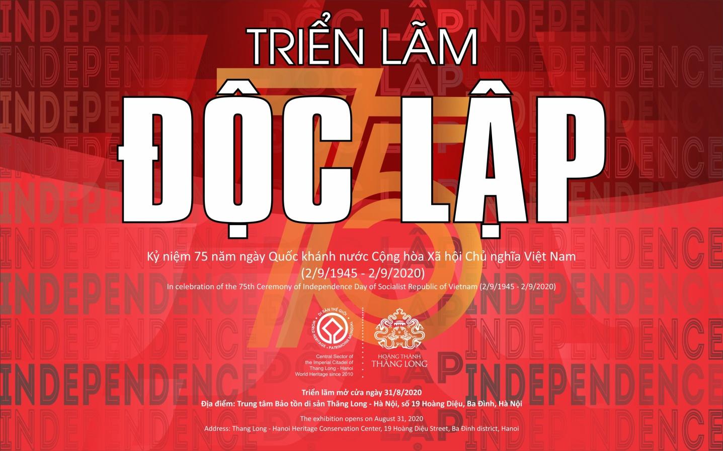 Triển lãm Độc lập kể chuyện khát vọng Việt Nam