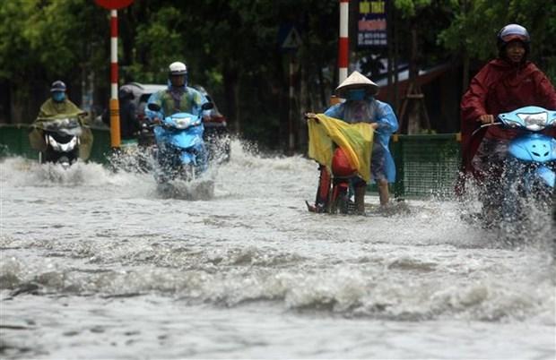 Từ ngày 578 mưa lớn diện rộng ở Bắc Bộ Tây Nguyên và Nam Bộ