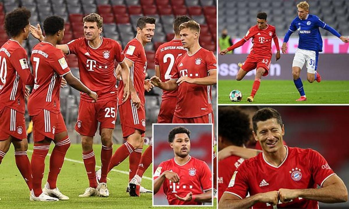 Bayern Munich khởi đầu Bundesliga bằng màn hủy diệt Schalke 80