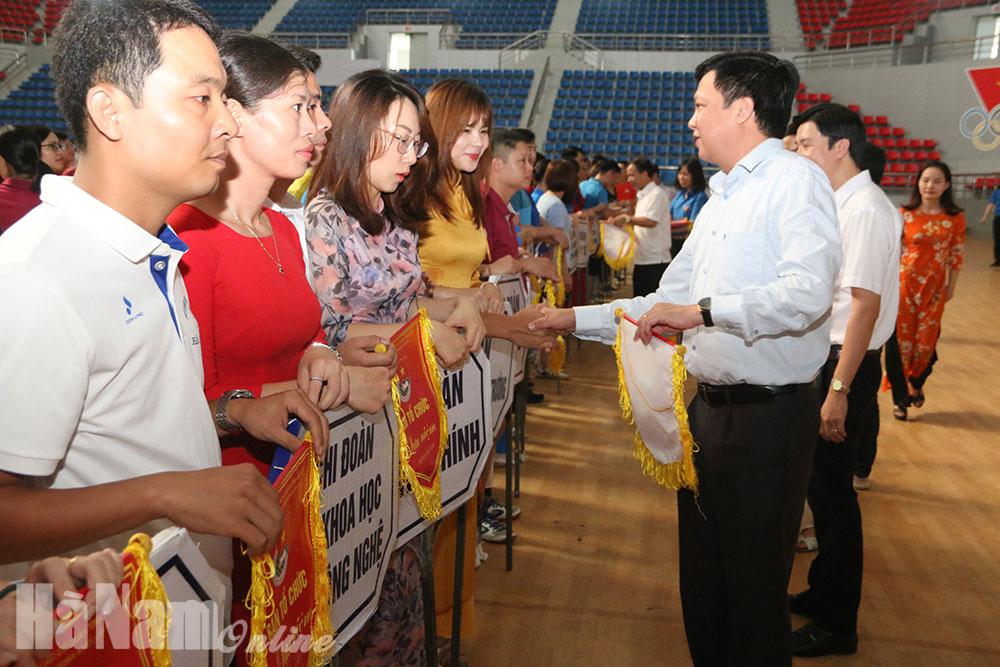 Chi đoàn Cục thuế tỉnh giành giải Nhất toàn đoàn Hội thao Đoàn Khối các cơ quan tỉnh lần thứ 2 năm 2020