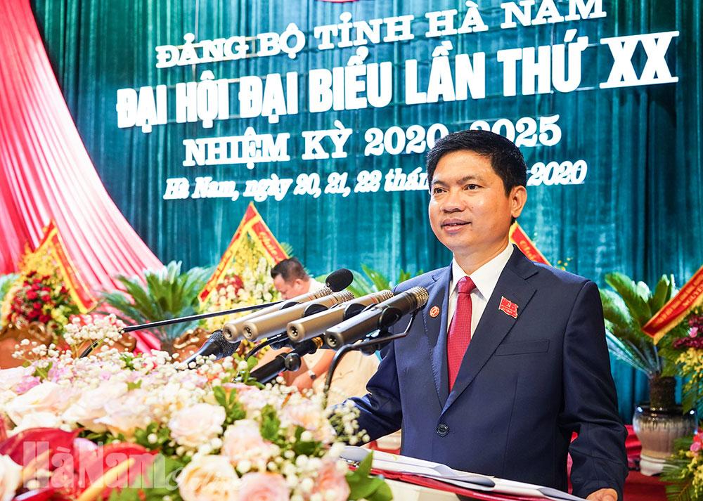 Đại hội đại biểu Đảng bộ tỉnh lần thứ XX thành công tốt đẹp