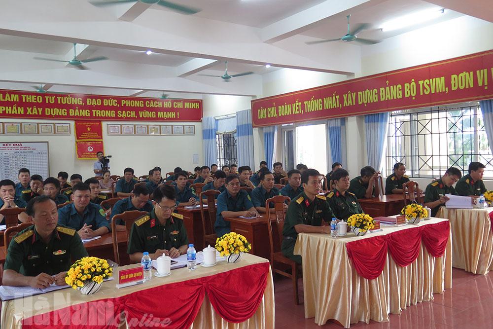 """ĐUQS huyện Lý Nhân sơ kết thực hiện mô hình điểm về """"Học tập và làm theo tư tưởng đạo đức phong cách Hồ Chí Minh"""""""