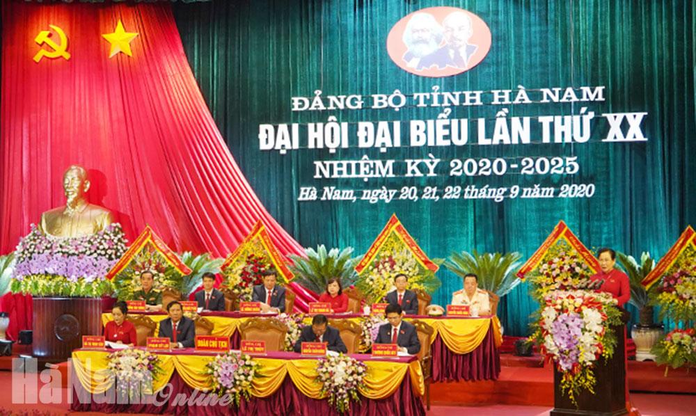 Hôm nay 219 khai mạc Đại hội đại biểu Đảng bộ tỉnh lần thứ XX nhiệm kỳ 20202025