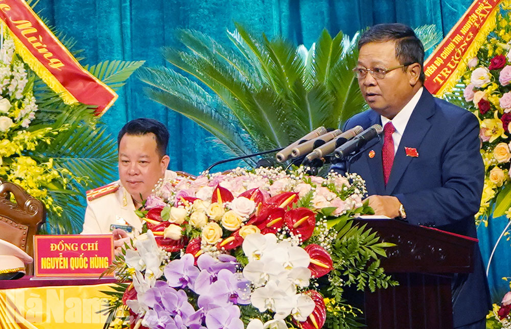 Khai mạc trọng thể Đại hội đại biểu Đảng bộ tỉnh lần thứ XX nhiệm kỳ 2020 – 2025
