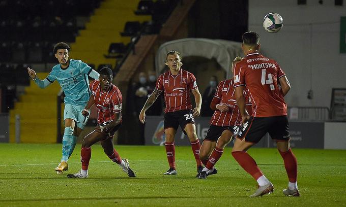 Liverpool đại thắng 72 ở vòng ba Cup Liên đoàn