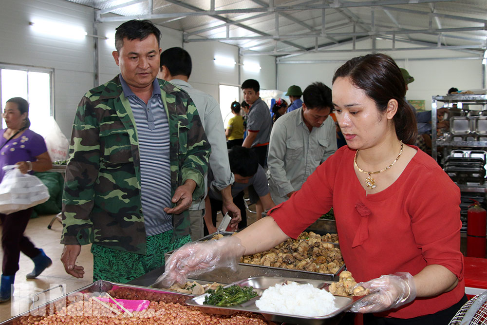 Nghề nấu ăn cho lao động nông thôn