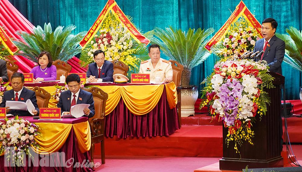 Nghị quyết Đại hội đại biểu Đảng bộ tỉnh Hà Nam lần thứ XX nhiệm kỳ 2020  2025