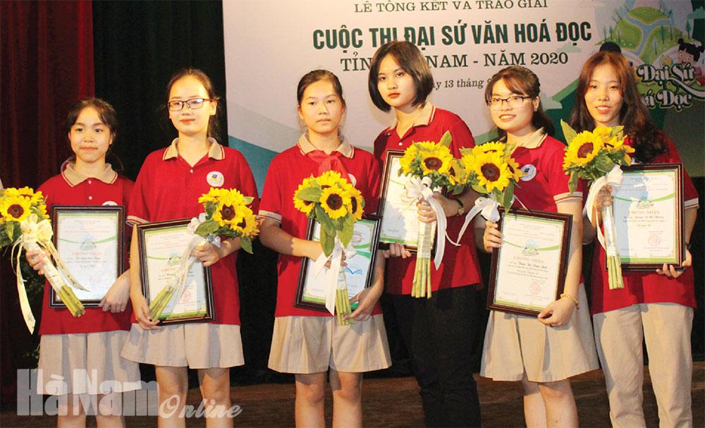 """Những điểm nhấn tại cuộc thi """"Đại sứ văn hóa đọc tỉnh Hà Nam năm 2020"""""""