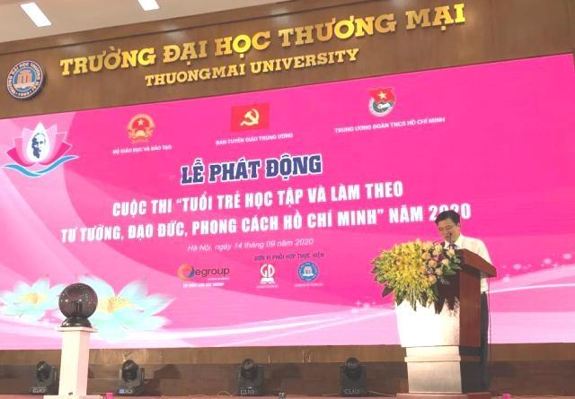 Phát động Cuộc thi Tuổi trẻ học tập và làm theo tư tưởng đạo đức phong cách Hồ Chí Minh