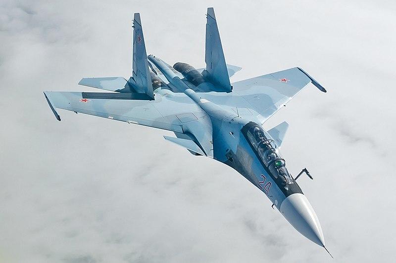 Rơi máy bay Su30 của Nga