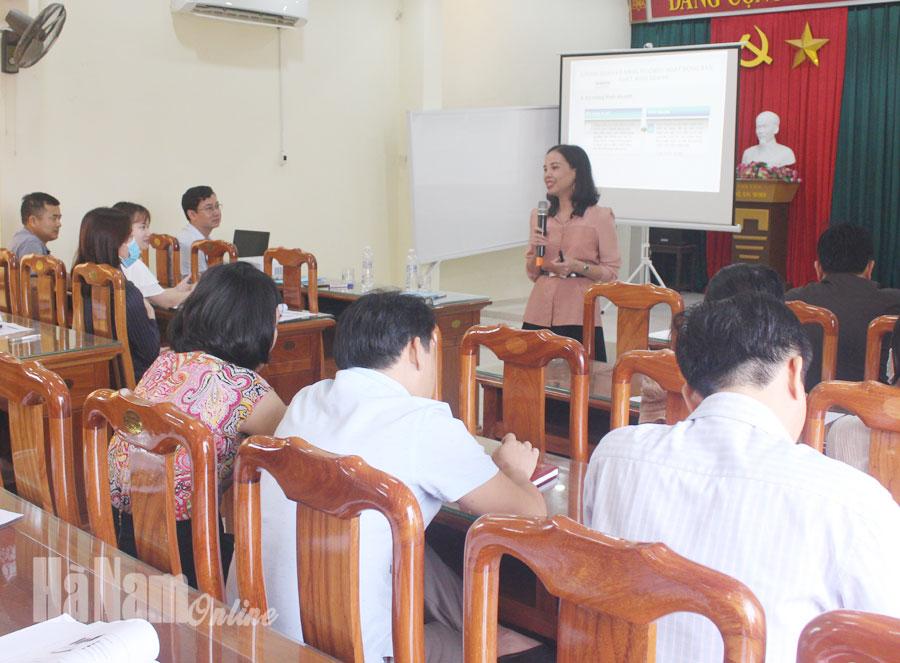 Tập huấn kỹ năng kinh doanh và tổ chức mạng lưới bán lẻ