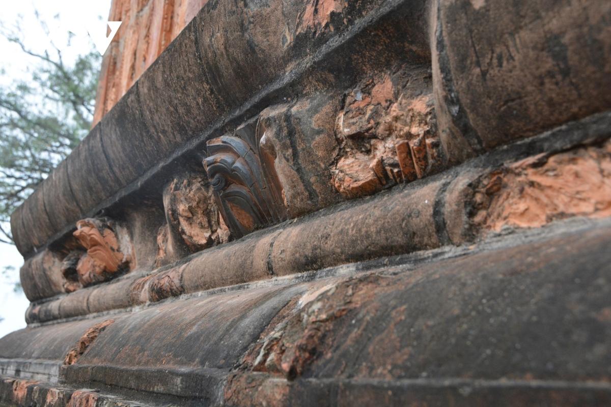 Tháp Bình Sơn kiến trúc độc đáo ở Vĩnh Phúc