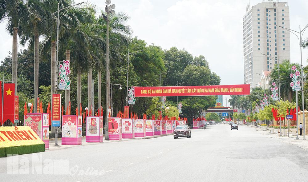 Thi đua lập thành tích chào mừng Đại hội Đảng bộ tỉnh lần thứ XX